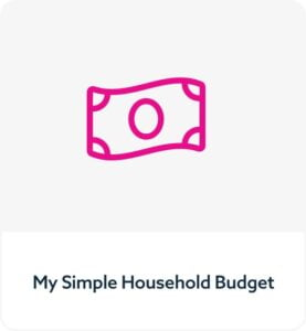 My Simple Household Budget